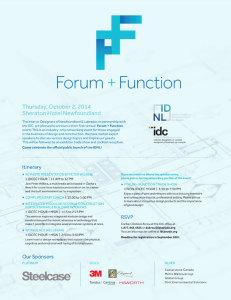 IDNL Forum and Function Event Invite